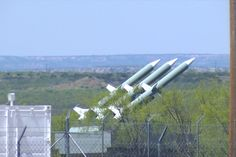 These are high resolution photos of the SAM missiles, that many say do not exist. These missiles are located 45 miles southeast of Lubbock, TX and were originally photographed by Travis Kuenstler.... A must read article!!!!!!!!!!