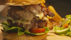 The ultimate indulgence #DevonshireArms #Pilsley #gastropub #travel #localproduce #Derbyshire #PeakDistrict #burger #comfortfood #cheeseburger #food #foodie #lunch #dinner