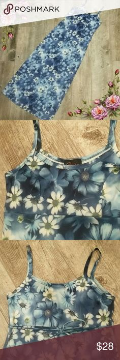MAKE AN OFFER ;) Gorgeous Flower maxi dress. In excellent condition rocket candy Dresses Maxi