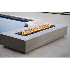 """Prism Hardscapes Tavola 6 Fire Table - Fantastic """"outdoor fire pit ideas backyards"""" information is offered on our site. Living Pool, Outside Fire Pits, Gas Fire Pits, Gas Fire Table, Outdoor Fire Pit Table, Outdoor Living, Propane Fire Pit Table, Outdoor Retreat, Patio Heater"""