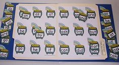 Pot-O-Gold Two and Three Letter Sight Word File Folder Games