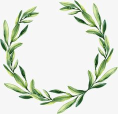 Green leaf garland, Watercolor Wreath, Watercolor PNG Image and Clipart Magnolia Leaf Garland, Fall Leaf Garland, Frame Floral, Flower Frame, Crown Flower, Watercolor Leaves, Floral Watercolor, Watercolour, Molduras Vintage