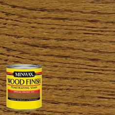Minwax 1-qt. Wood Finish Special Walnut Oil-Based Interior Stain (4-Pack)-70006 - The Home Depot