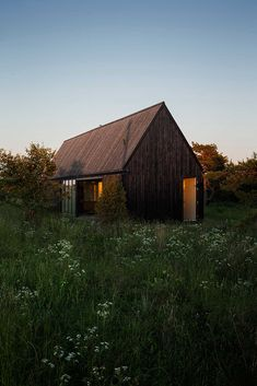 weekend cabin. the summer house.