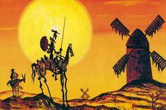 News Non Disponibile - Ultime Notizie Art Pop, Pencil Art For Beginners, Oz Magazine, Man Of La Mancha, Dom Quixote, Art Drawings Sketches, Vintage Posters, Landscape Paintings, Folk Art