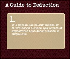 A Guide To Deduction: