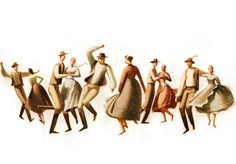 la bibelothèqueFolk Dancers, illustrations by Sukanto Debnath.