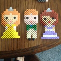 9x15, 7x16, 9x16-Sofia the First  perler beads by perlerobsessed