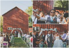Stevie and Dan's Rustic Outdoor Wedding with Loads of DIY Touches. By Christina Heaston Photography
