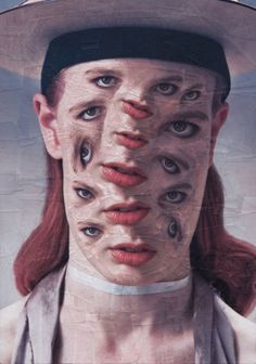 Ireland-based collage artist and illustrator Lola Dupre created a series of distorted portraits with a surreal touch for Vein magazine. The collages feature freakish figures. Lewis Carroll, Time Magazine, Street Art, Surreal Collage, Photoshop, Affinity Designer, Collage Artists, Graffiti, French Art