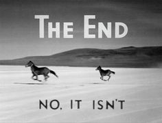 It isn't the end