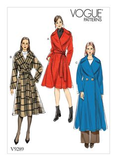 V9289 | Vogue Patterns | Sewing Patterns
