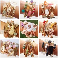 Closet Look Book Handmade by yours truly.  SELLER DISCOUNT: 30% off 4 or more. Jewelry Bracelets