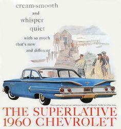1960 Vintage Chevy Ad     Everett Chevrolet Buick GMC  www.everettchevy.com