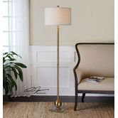 $382 Found it at Wayfair - Laton Sphere Floor Lamp by Uttermost