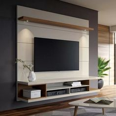 Most Popular DIY Entertainment Center Design Ideas For Living Room is part of Living Room TV Wall - A DIY entertainment center is an excellent method to house as well as store all your digital entertainment gadgets in an eyecatching manner It's a perfect Living Room Lighting, Living Room Decor, Bedroom Lighting, Living Rooms, Apartment Living, Hallway Lighting, Tv Wall Ideas Living Room, Kitchen Lighting, Apartment Ideas