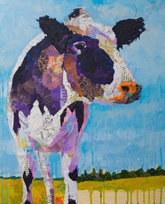 Holstein cow collage – Cow Art and More