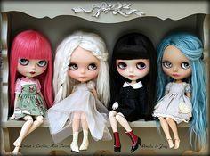Blythe dolly shelf Sunday | Flickr - Photo Sharing!