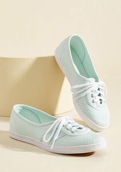 Seize the Movement Sneaker in Pistachio in 39 - Flat - 0-1 by Fred Perry from ModCloth