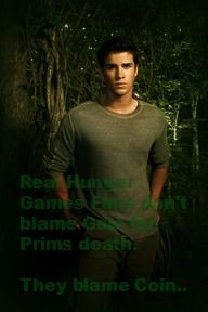 """""""Real hunger games fans don't blame Gale for Prims death. They blame Coin."""" The Hunger Games--Gale Hawthorne--Primrose Everdeen.<-- Finally someone besides me doesn't blame Gale. Gale Hunger Games, Hunger Games Catching Fire, Hunger Games Trilogy, Team Gale, New Twilight, Mockingjay Pin, Gale Hawthorne, The Best Series Ever, Katniss Everdeen"""
