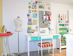 Design your own craft room with a blast craft-sewing-scrapbo
