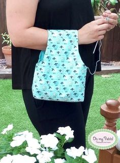 Foto-tutorial bolsa porta ovillos, con patrón incluido. Photo-tutorial crochet ball bag, pattern included.