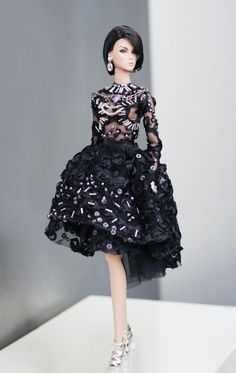 Raven Queen Dress for Fashion Royalty fr2 nuface new