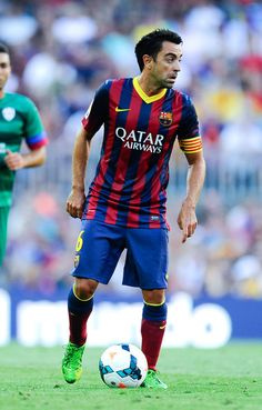"""Xavi Hernández, para mi lo que significa la palabra """"jugador de fútbol""""."""