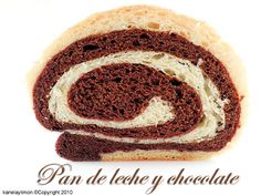 Kanela y Limón: Pan de leche y chocolate / Paso a paso
