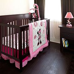 Sure, now they have it. Minnie Mouse Nursery Collection