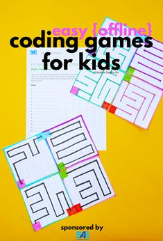 Introduce basic programming concepts with these easy coding games for kids! This is a great introduction to coding for kids. #AWIM #STEM #sponsored