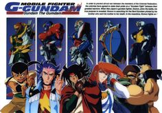 Mobile Fighter G Gundam shuffle alliance. My favorite is personally is gotta be neo France's George