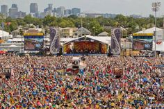 New Orleans Jazz and Heritage Festival....it really does get that crowded, but it is so worth it!