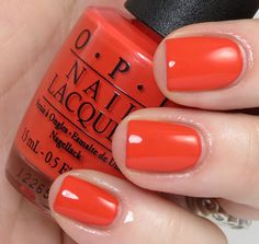 My Paprika is Hotter Than Yours - OPI Euro Centrale Collection Spring/Summer 2013