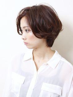 『イノセントショートボブ』 - AKs / 表参道の大人の女性のための美容室 アクス [東京都] - スタイル -