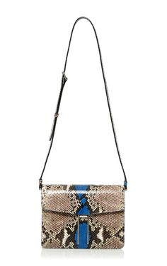 Roccia With Blue Painted Python H Cross body by Hayward. Italianist.com