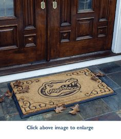 Florida Gators Door Mat