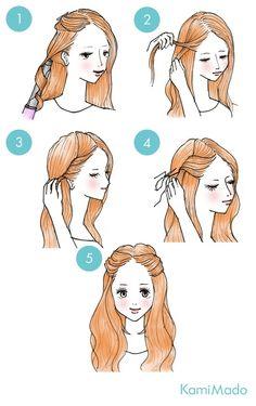 Peinados pado a paso