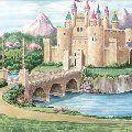 Enchanted Kingdom Wall Minute Mural