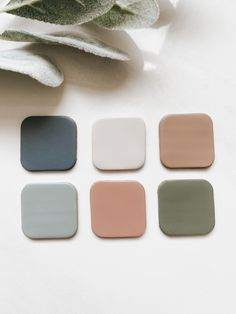 Earthy Color Palette, Colour Pallette, Colour Schemes, Polymer Clay Earrings, Color Inspiration, Color Mixing, Decoration, Instagram, Paper Press