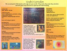 Class 2: An outline of Waldorf Grade Two Curriculum at The City School Waldorf Initiative!