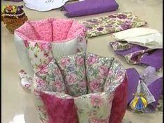 Moldes de Xícaras de Tecido feitas com técnica de patchwork » Artesanato Brasil