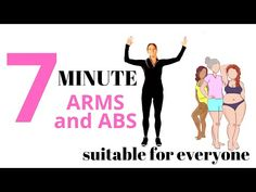 7 MINUTE WORKOUT WITH ARM EXERCISES FOR WOMEN AND AB WORKOUT - AT HOME WORKOUT | LUCY WYNDHAM-READ - YouTube