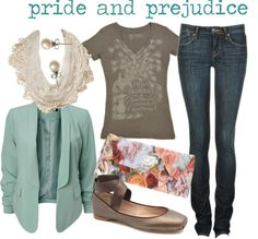 Lovely Undergrad: Literary Chic | Fashion by the Books --- Oh I love them all...so much love...