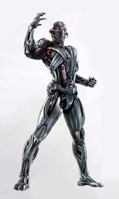 Avengers: Age Of Ultron Concept Art Reveals Full Body Shot Of Ultron | Comicbook.com