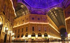 Galleria Vittorio Emanuele shopping Center in Milan