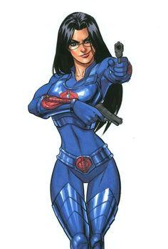 Baroness G. Joe by Scott Dalrymple Comic Art Girls, Comics Girls, Comic Book Heroes, Comic Books Art, Comic Book Artists, Baroness Gi Joe, Female Comic Characters, Female Hero, Comic Movies