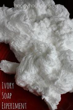 Experimento Ivory Soap Microondas - Happy Hooligans