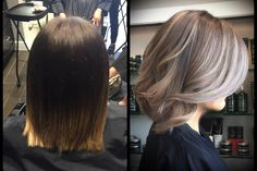 COLOR CORRECTION: Ombre to BREY (Brown and Grey) | Modern Salon