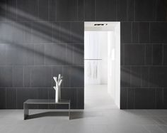 #Greys collection #unglazed tiles available in 12 #shades of grey for a#luxury look